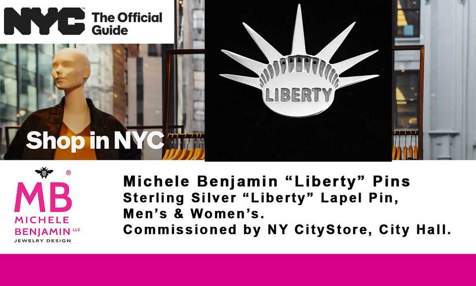 Michele Benjamin Bee Necklaces at Whitney Museum Shop