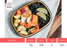 Load image into Gallery viewer, Grilled Veggie & Black Bean Bowl
