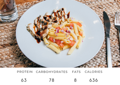 Brushcetta Chicken Pasta Salad