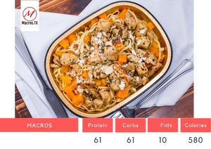 Chicken Butternut Squash Pasta