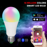 Wireless Bluetooth RGBW Smart Bulb | 15W & 20W Lights