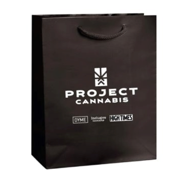 "8""x10""x4"" Matte Laminated Eurotote with Imprint - 1 Side"