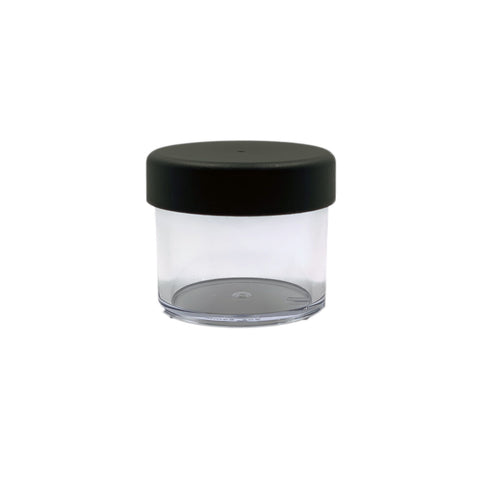 1/4oz 33mm Thick Wall Plastic Jar