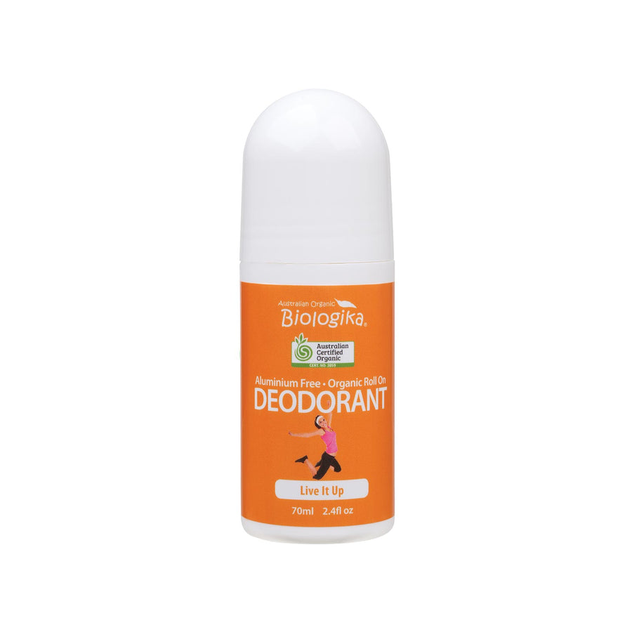Biologika Organic Deodorant Live It Up - 70ml