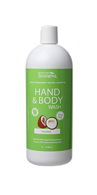 Biologika Hand and Body Wash Coconut - 1L