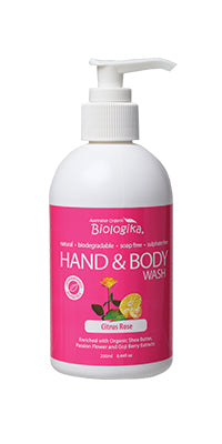 Biologika Hand and Body Wash Rose - 250ml