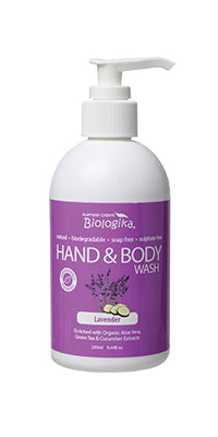 Biologika Hand and Body Wash Lavender - 250ml