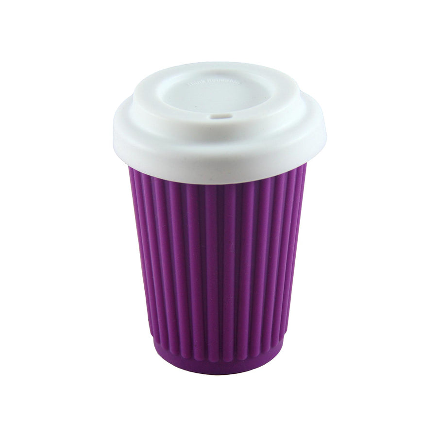 Onya Reusable Coffee Cup Regular (355ml) - Purple