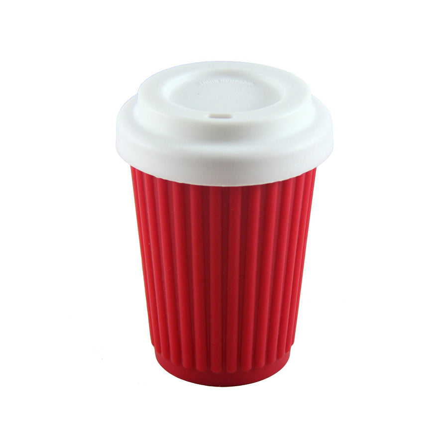 Onya Reusable Coffee Cup Regular (355ml) - Red