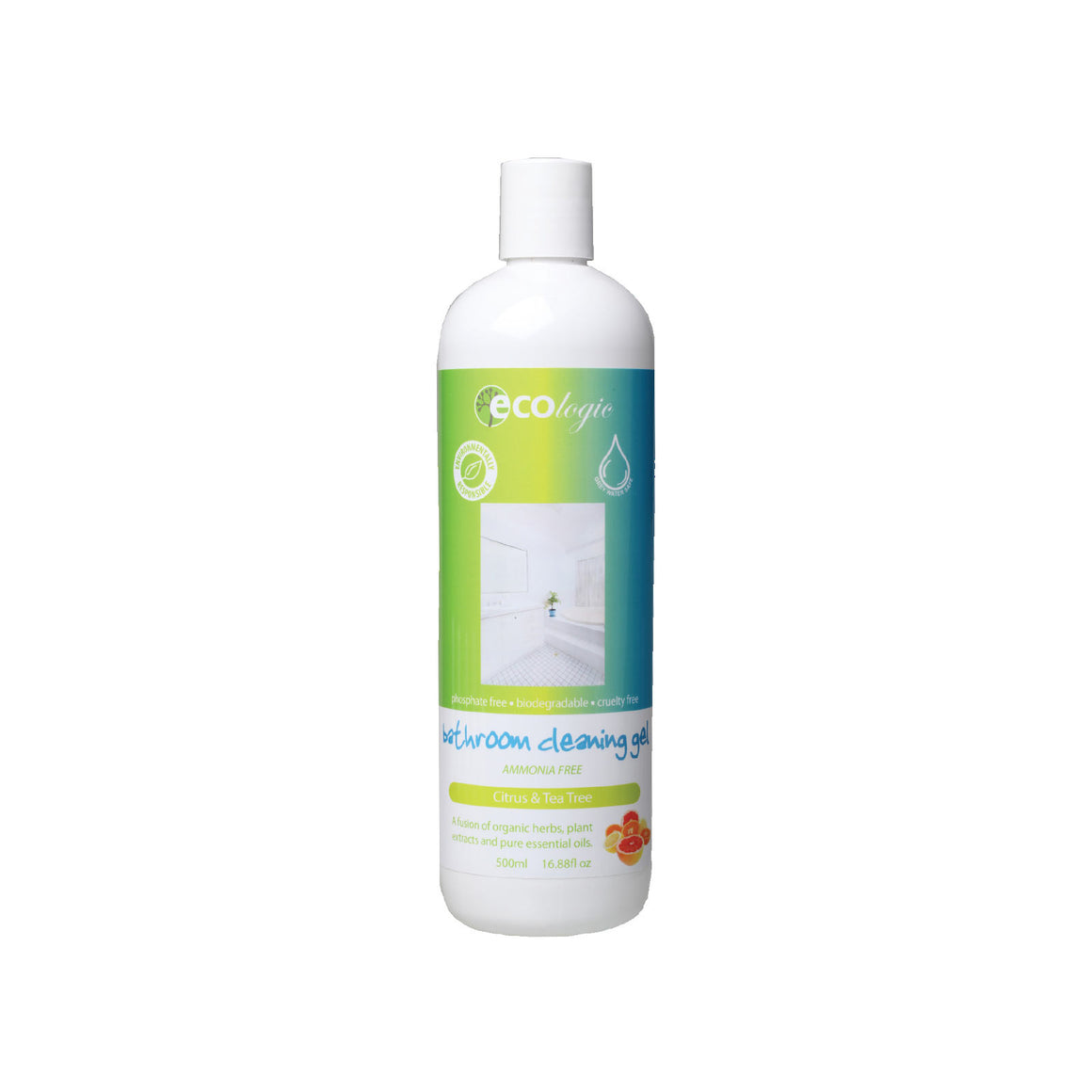 Ecologic Bathroom Cleansing Gel Citrus - 500ml