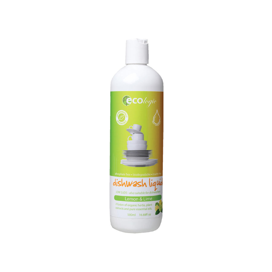 Ecologic Dishwash Liquid Lemon and Lime – 500ml