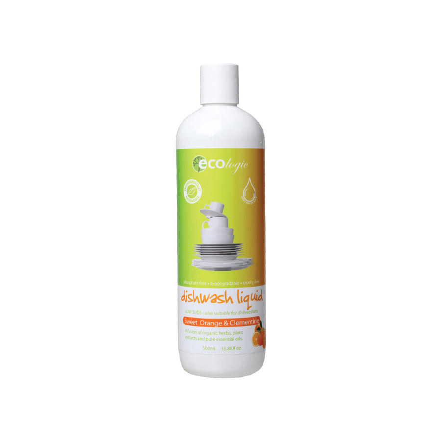 Ecologic Dishwash Liquid Sweet Orange – 500ml