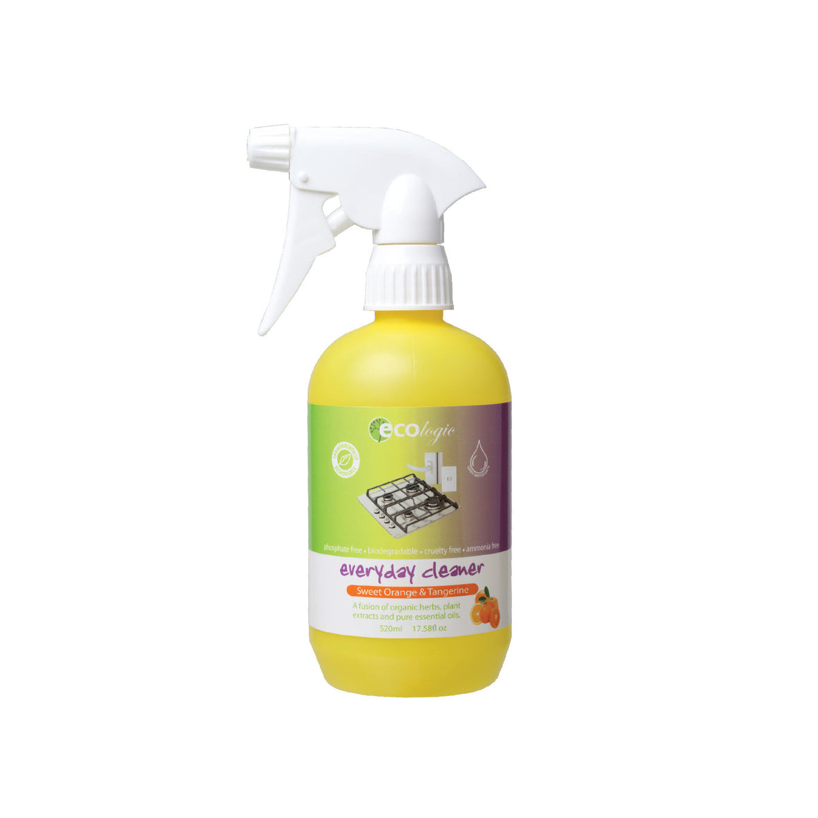 Ecologic Everyday Cleaner Sweet Orange - 520ml