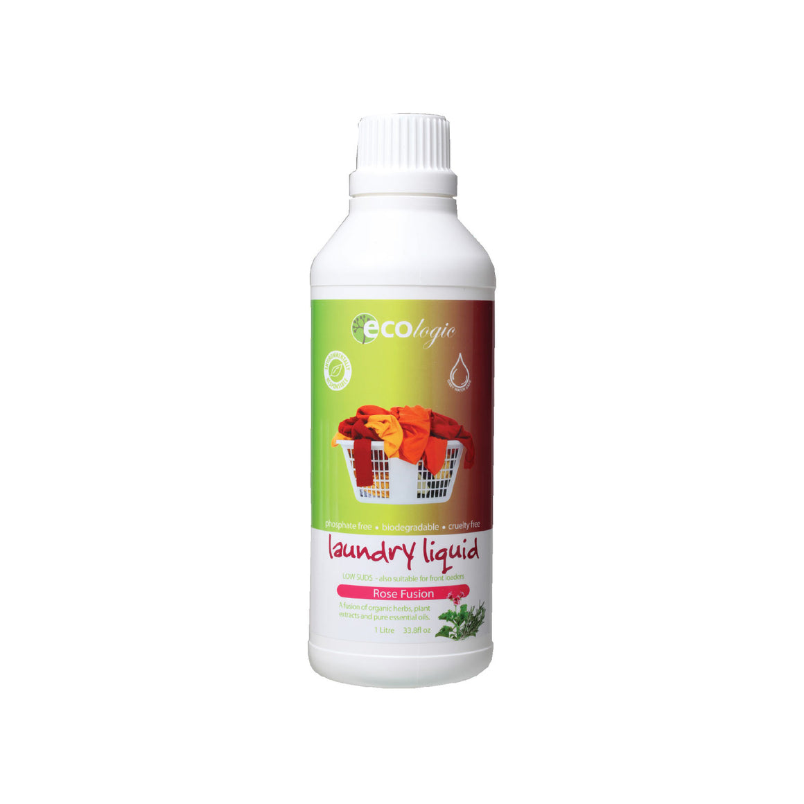 Ecologic Laundry Liquid Rose Fusion - 1L