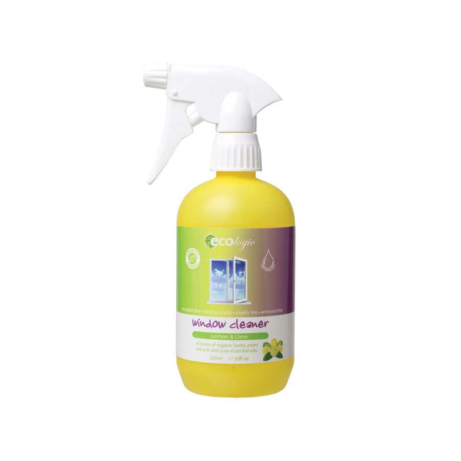 Ecologic Window Cleaner Lemon and Lime - 520ml