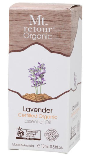 Mt Retour Lavender Certified Organic Essential Oil 10mL