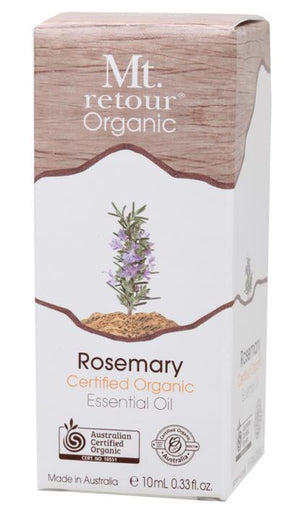 Mt Retour Rosemary Certified Organic Essential Oil 10mL