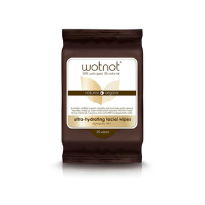 Wotnot Face Wipes Ultra Hydrating - 25 sheets