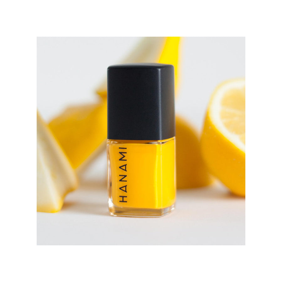 Hanami Cosmetics Nail Polish - Bright Yellow Beams