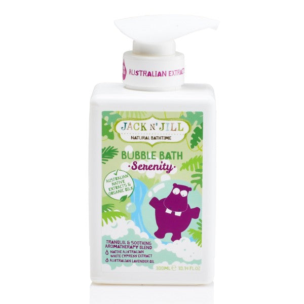 Jack N' Jill Serenity Bubble Bath, Natural Bath Time- 300ml