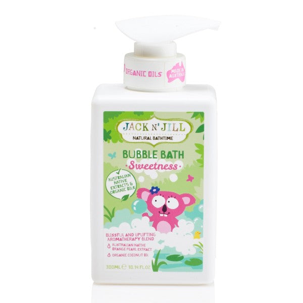 Jack N' Jill Sweetness Bubble Bath, Natural Bath Time- 300ml