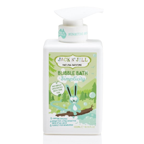 Jack N' Jill Simplicity Bubble Bath, Natural Bath Time- 300ml