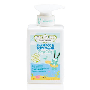 Jack N' Jill Simplicity Shampoo & Body Wash - 300 ml