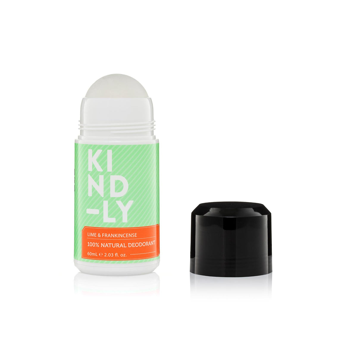 Kind-ly Lime & Frankincense 100% Deodorant - 60ml