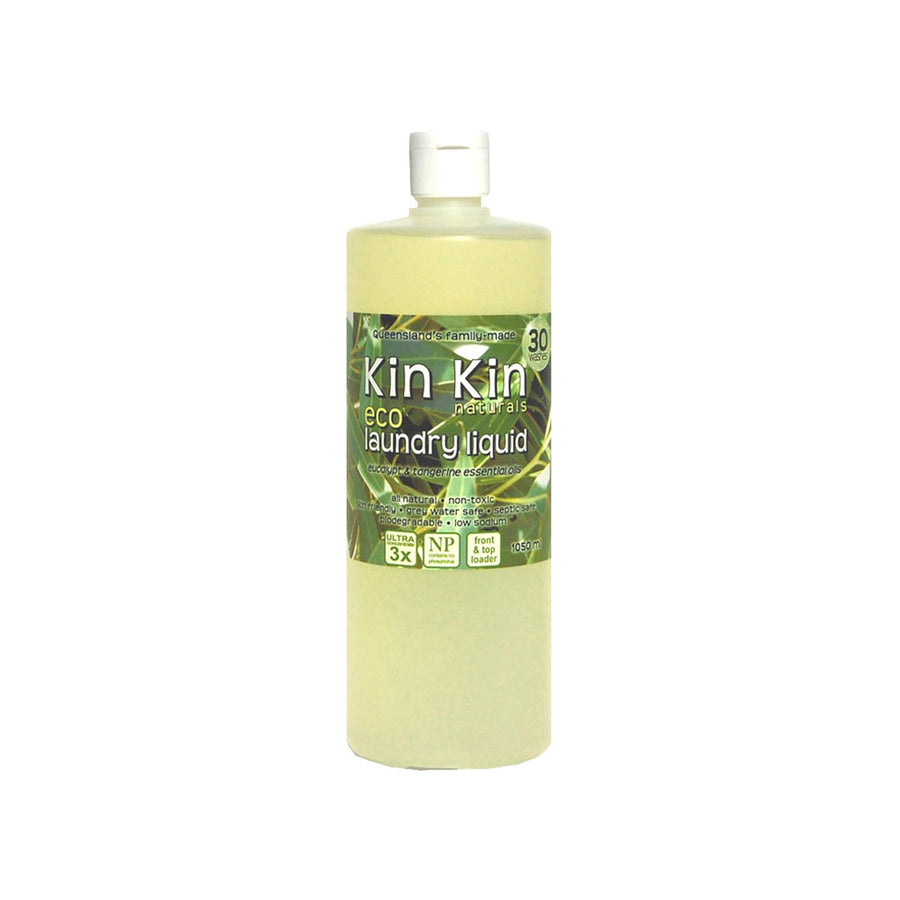 Kin Kin Naturals Laundry Liquid Eucalypt - 1050ml