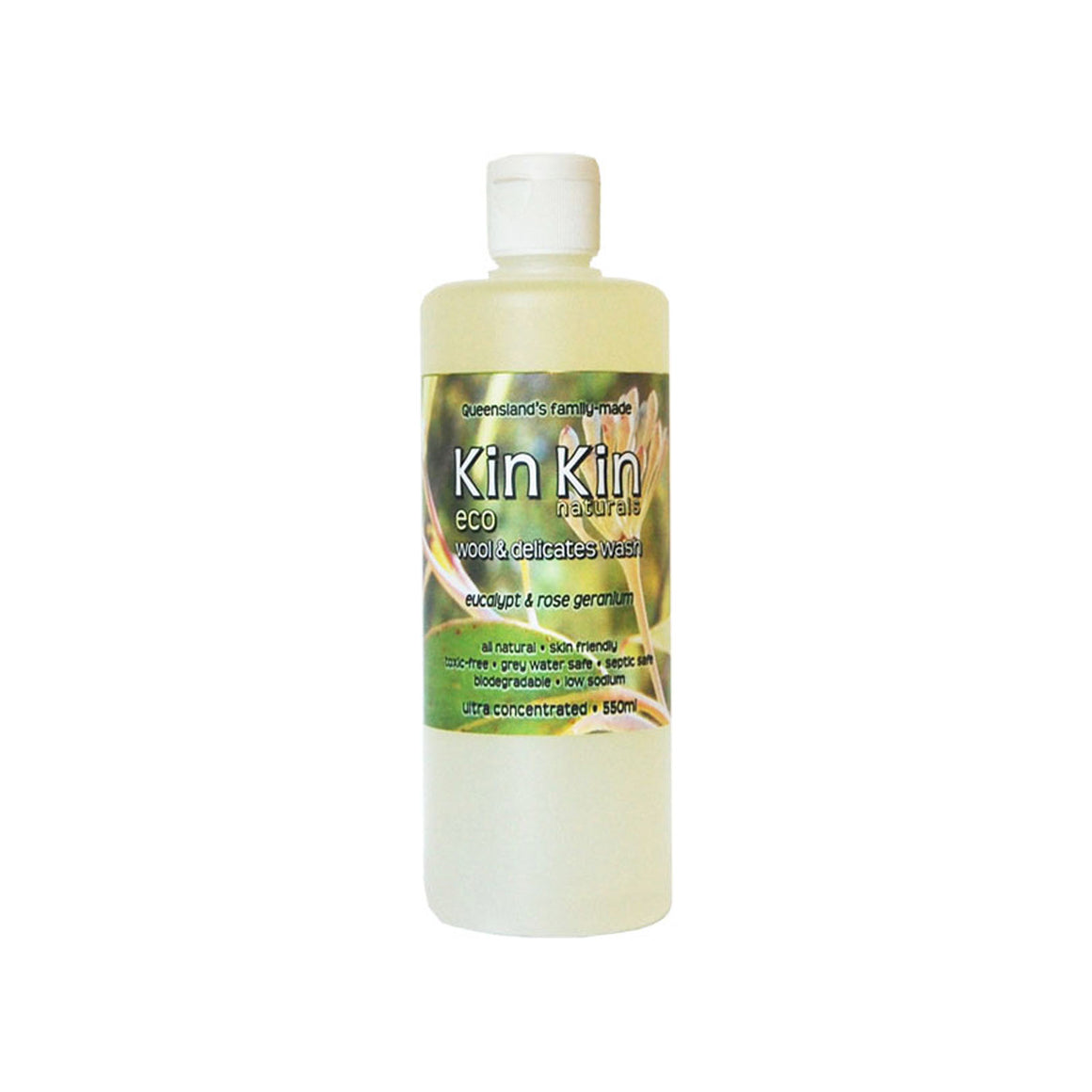Kin Kin Naturals Wool & Delicates Wash - 550ml