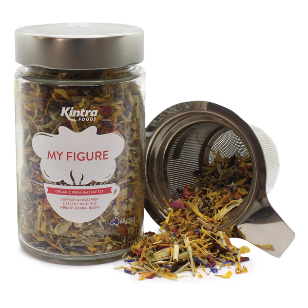 Kintra Foods Loose Leaf Tea My Figure 65g