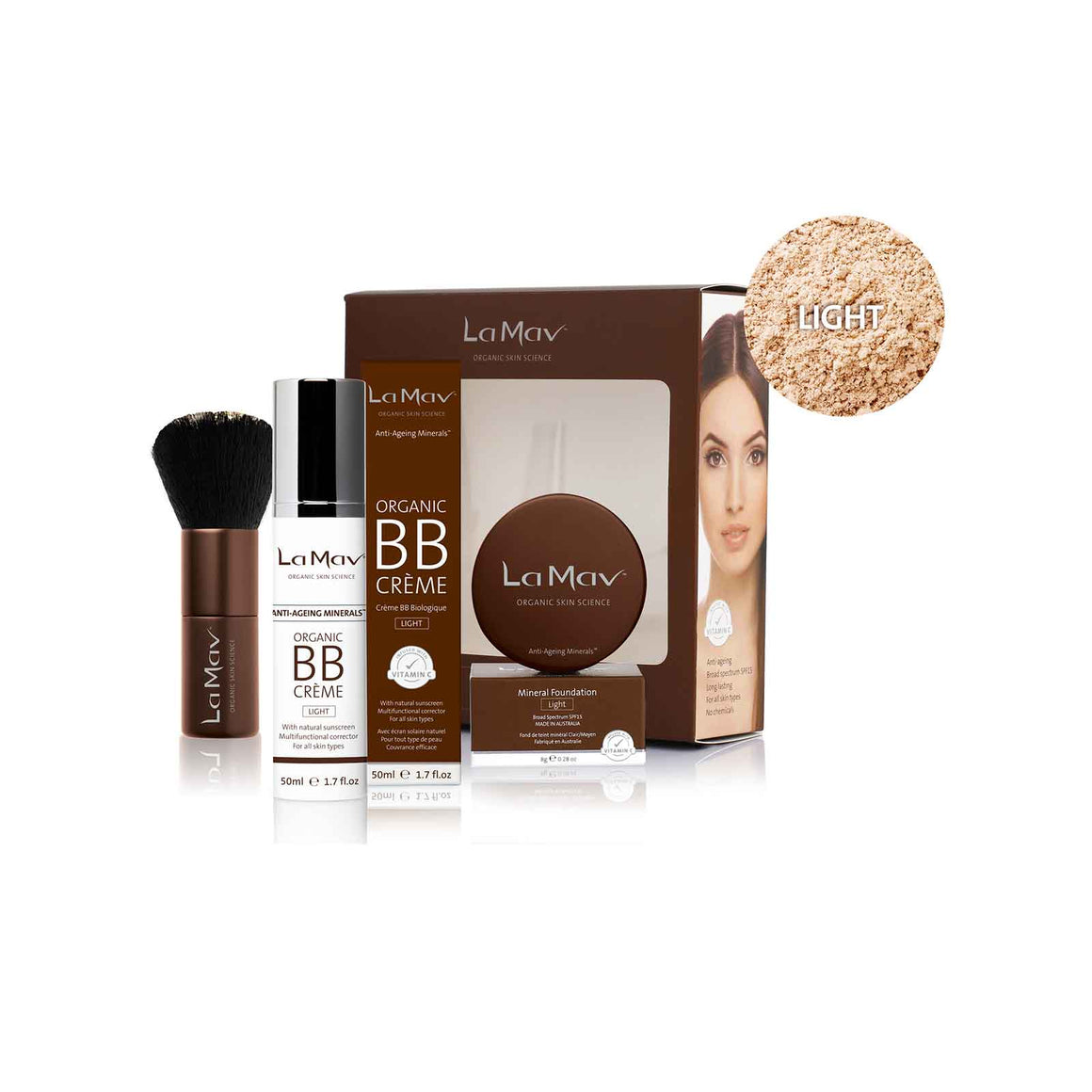 La Mav Be Beautiful Starter Kit - Light