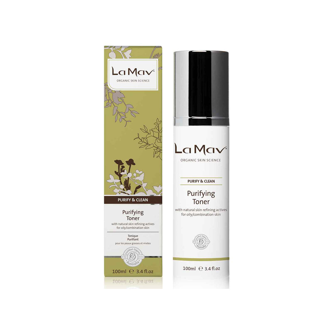 La Mav Purifying Dual Purpose Toner - 100ml