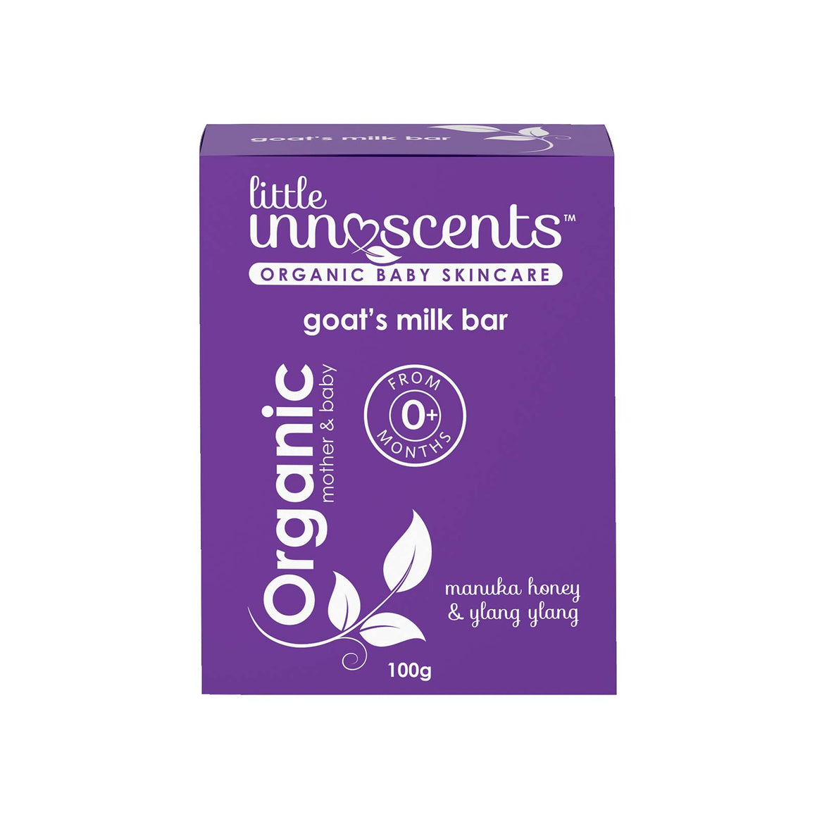 Little Innoscents Organic Baby Soap Bar - 100g