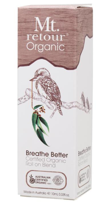 Mt Retour Certified Organic Breathe Better Roll On 10mL