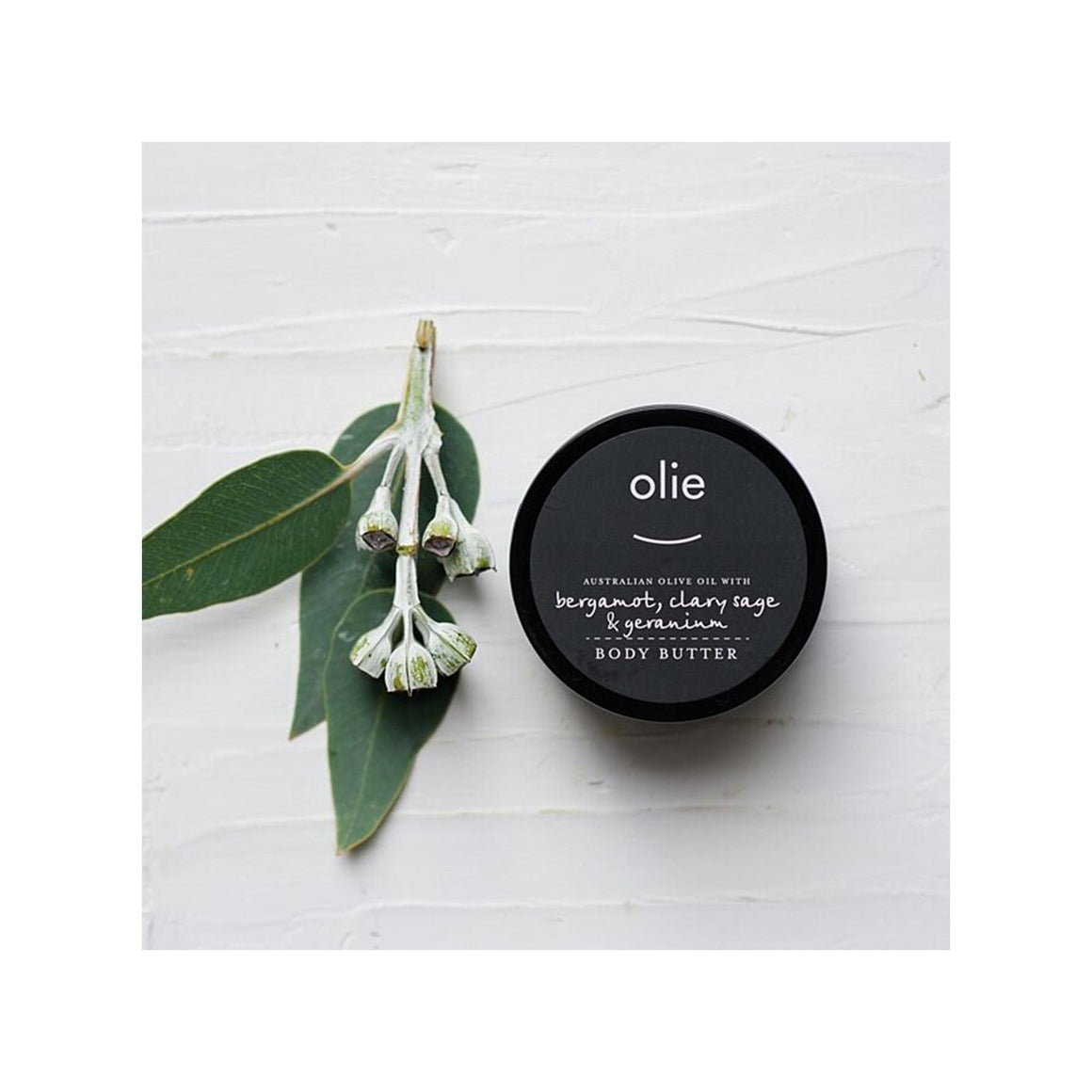 Olieve & Olie Body Butter, Bergamot & Sage – 100ml