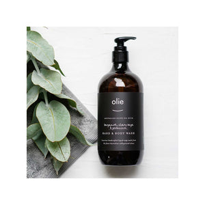 Olieve & Olie Hand / Body Wash Bergamot - 500ml