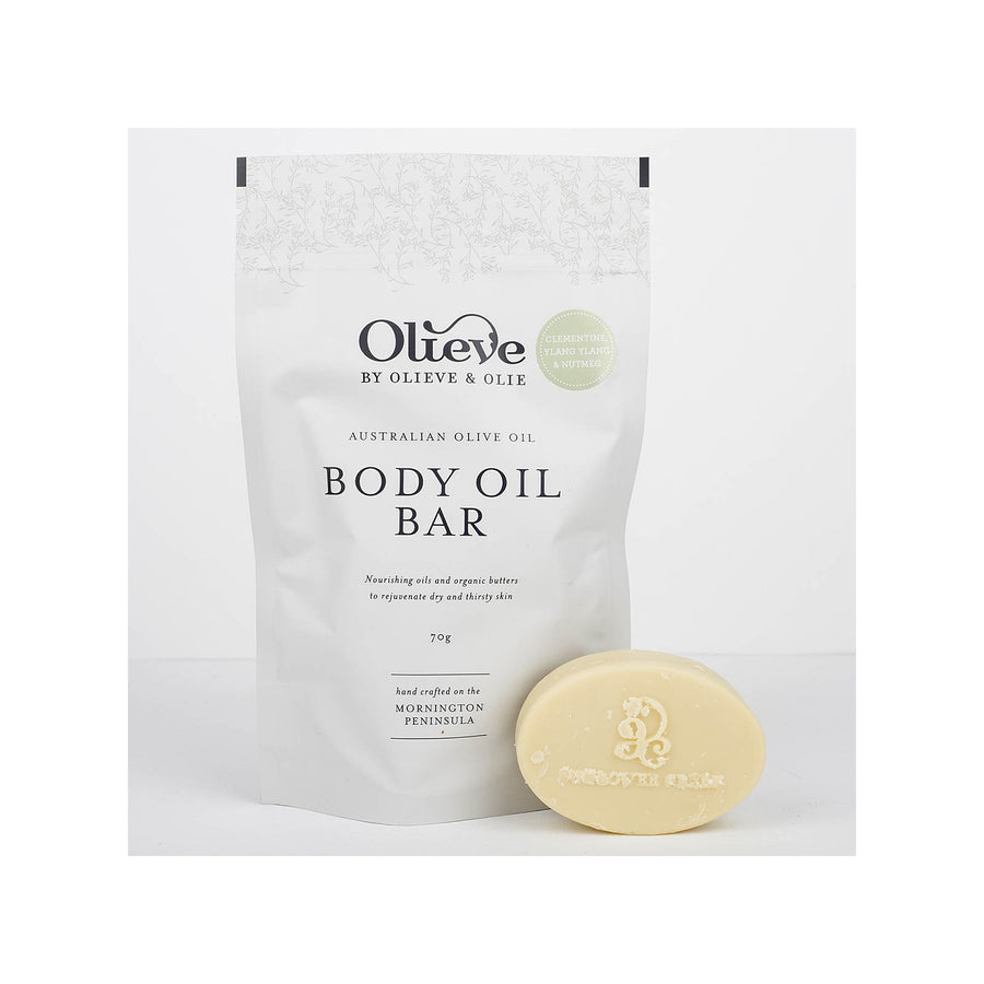 Olieve & Olie Body Oil Bar Clementine - 70g