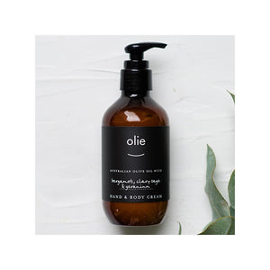 Olieve & Olie Hand & Body Cream Bergamot - 200ml
