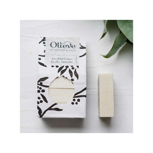 Olieve & Olie Hand Made Bar Soap Lemon x3 - 240g