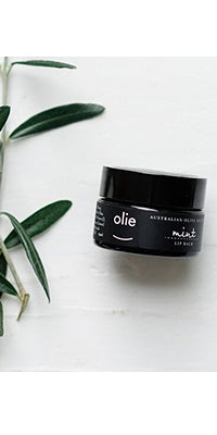Olieve & Olie Lip Balm - Peppermint and Lemon - 15ml
