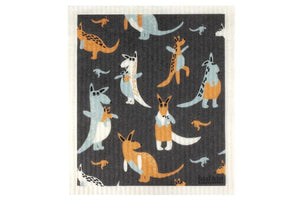 RetroKitchen Sponge Cloth Kangaroos