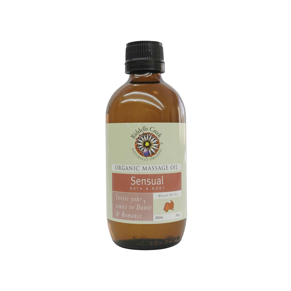Riddells Creek Massage Oil Sensual-200ml