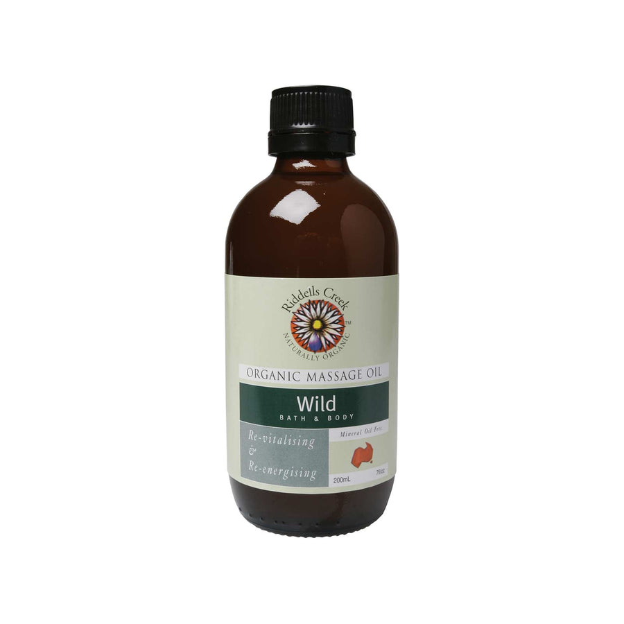 Riddells Creek Massage Oil Wild-200ml