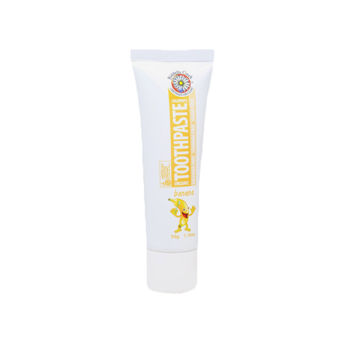 Riddells Creek Toothpaste Banana - 50g