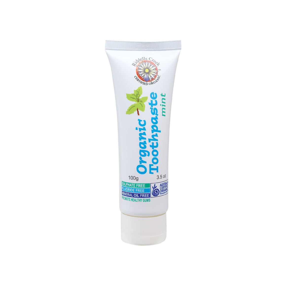 Riddells Creek Toothpaste Mint - 100g