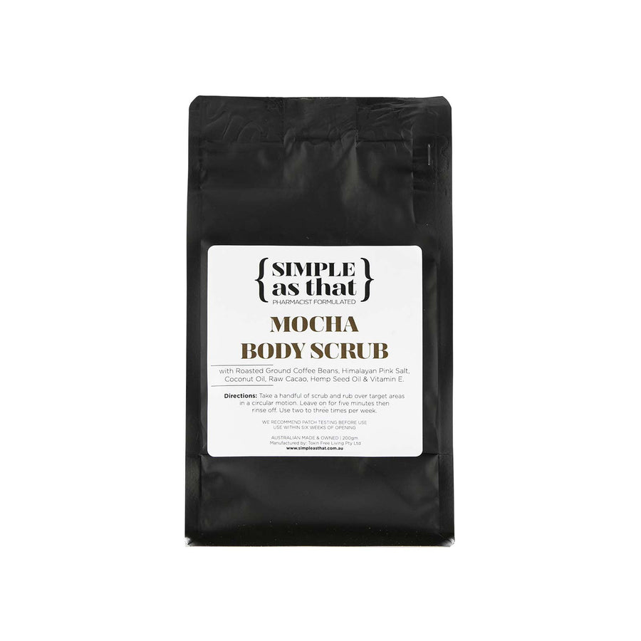 Simple as that Mocha Body Scrub - 200g