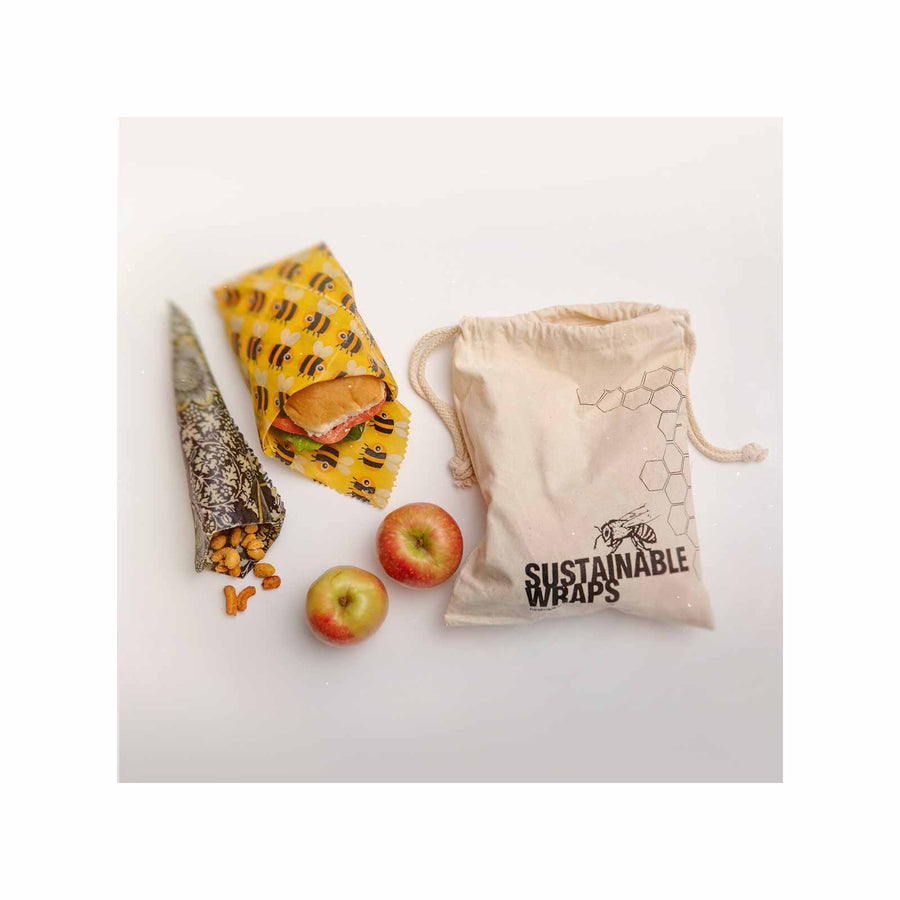 Sustainable Wraps Produce Pack - Medium & Large
