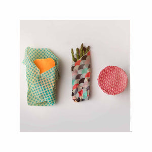 Sustainable Wraps - 3 Pack Small, Medium & Large