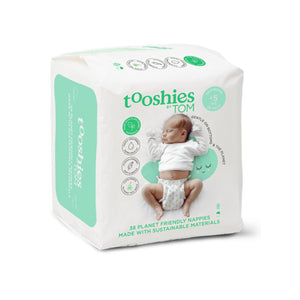 Tooshies Newborn Nappies - 38pk